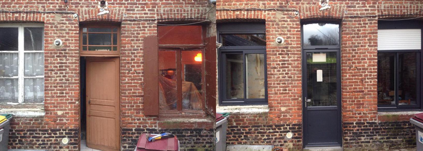 Porte, fenêtres et volets